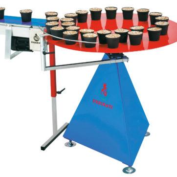 Tavolo rotante di accumulo vasi (accessorio).