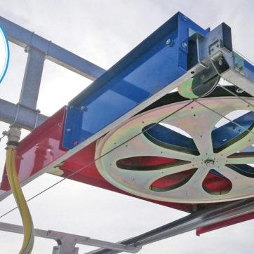 Irrigatore mobile da esterno IRMOEX - RUOTA