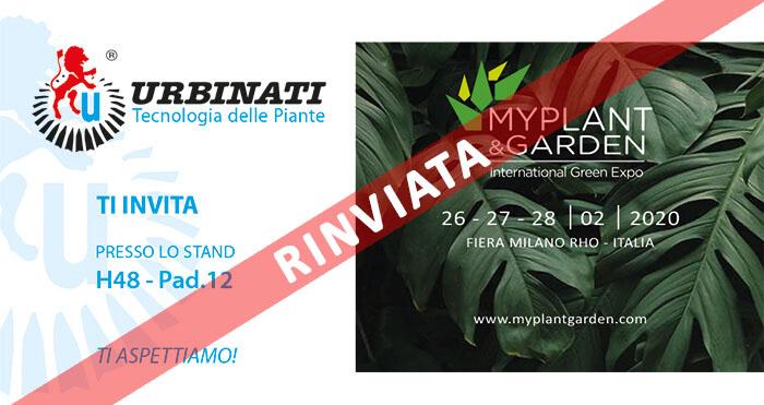 Urbinati - MyPlant & Garden 2020
