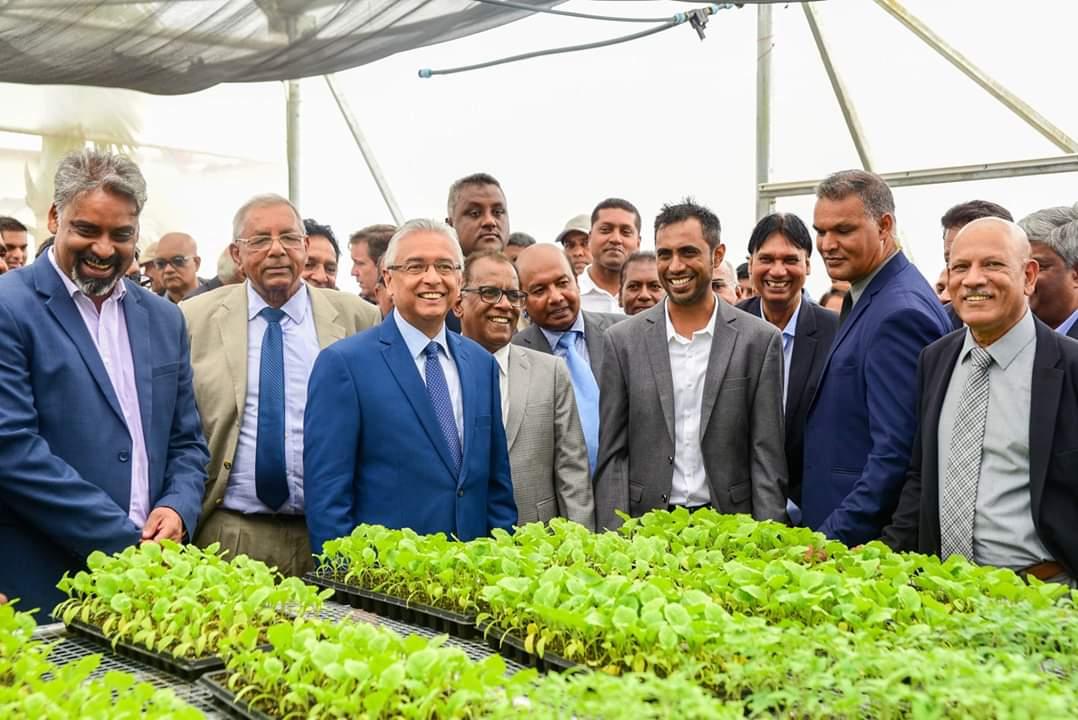Urbinati e le isole Mauritius: vivai MCAF