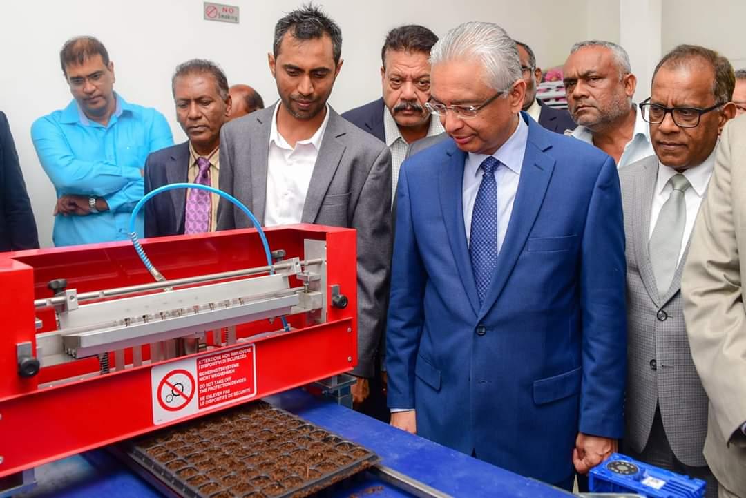 Urbinati e le isole Mauritius: primo Ministro in visita presso MCAF