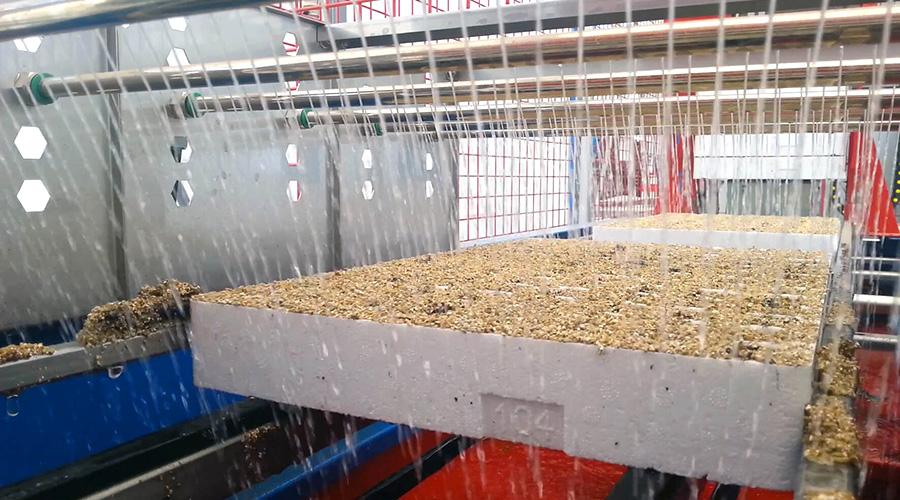TELCOBAIM: modulo di irrigazione a barre forate